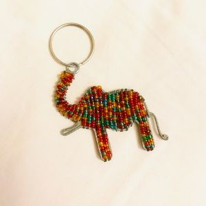 Accessories - Colorful Elephant Keychain